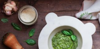salse liguri: pesto genovese