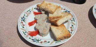 Vento Ariel - Patè di seppie ... il piatto storico del Vento Ariel