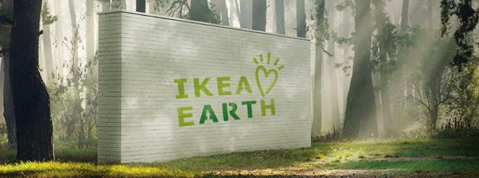 Ikea loves earth