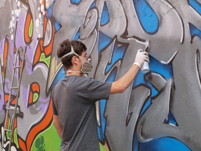 Street art beer genova