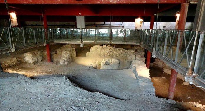 Giardini Luzzati area archeologica