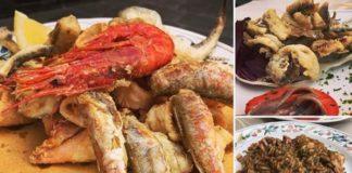 Alcuni dei piatti del Vento Ariel